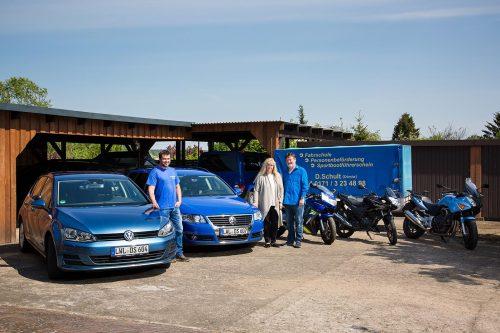 Fuhrpark und Team der Fahrschule Schult in Dömitz