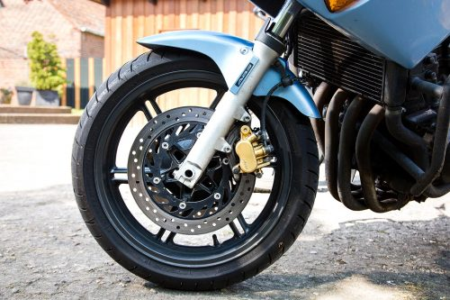 Motorrad-Detail Fahrschule Schult Mecklenburg